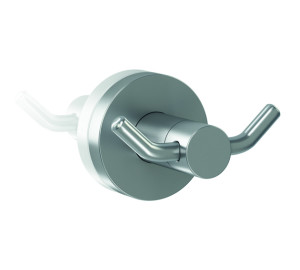 Percha doble inox 304